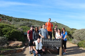 Cape Point Back (L to R): Jazmin, Bobby, Peter Front (L to R): Evan, Larisa, Vinny, Ryan, Chrystal, Emily, Michelle