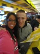 Larisa & Vinny before the flight to Johannesburg