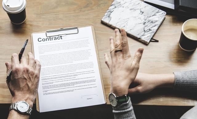 Firma de contrato inteligente