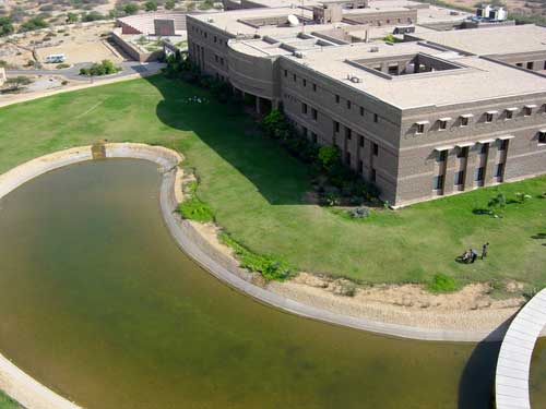Ariel view of our campus