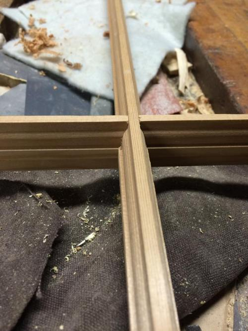 A window joint completed