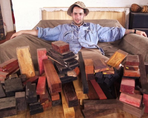Collecting Wood Like a Crazy Person