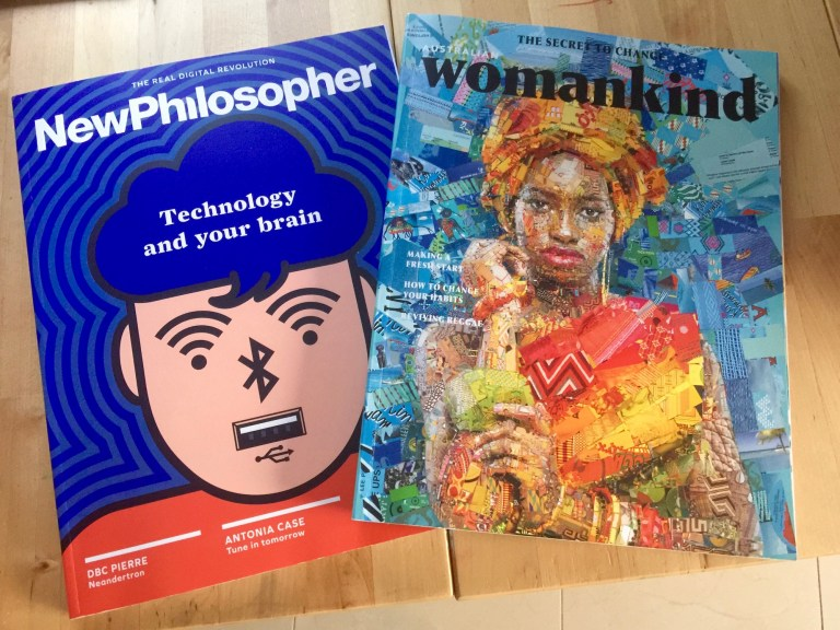 The New Philosopher 11 and Womankind 7