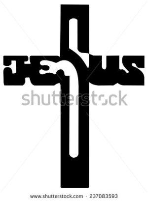 stock-vector-cross-of-christ-silhouette-237083593