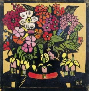 Fuschia etc - Margaret Preston