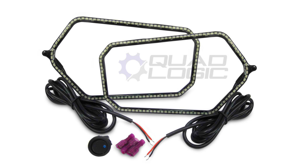 RZR 900 (2011-14) Tricled Headlight Rings