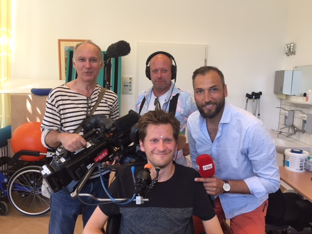 Television Interview About my Swimming Accident, Spinal Cord Injury and Rehabilitation