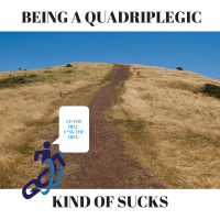 Being a Quadriplegic Kind of Sucks