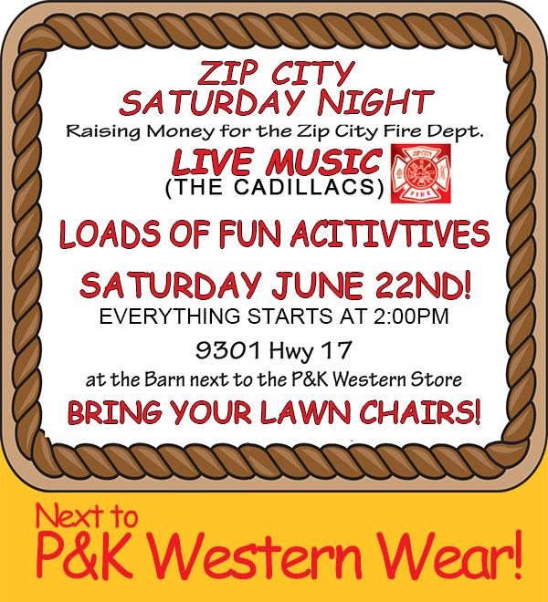 PK Saturday Night In Zip City