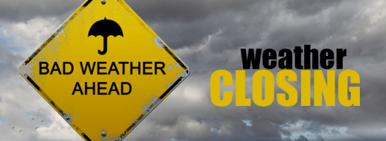 Due To Possible Severe Weather For December 23