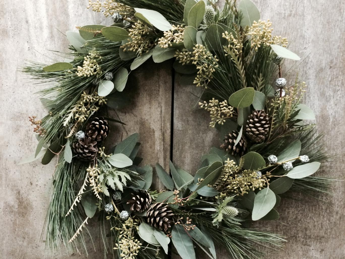 inspirationseek ideas your in to with com leaf make home decor decorated christmas wreaths artificial