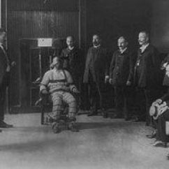 Electric Chair Was Invented By Animal Print Dining Covers Inventor A Dentist Really Execution Electrocution Usually Performed Using An Is Method Originating In The United States Which Condemned Person