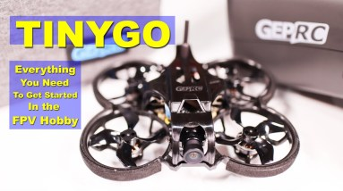 Amazing FPV Drone all in one Kit for Beginners - GEPRC TinyGo Review