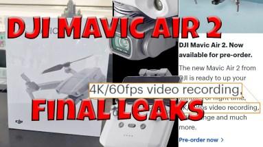 DJI Mavic Air 2 Final Leaks 4k60FPS Confirmed