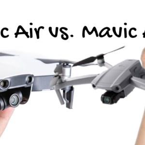 DJI Mavic Air 2 vs. Mavic Air