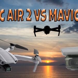 DJI Mavic Air 2 vs Mavic Mini