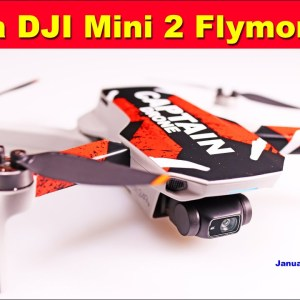 Win a DJI MINI 2 Flymore Kit - January 2021 Drone Contest