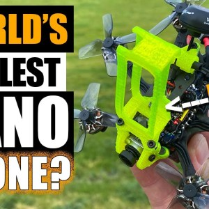 WORLD'S COOLEST DRONE? - Flywoo Firefly Hex Nano Drone - REVIEW & FLIGHTS ⚡️