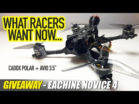 "Caddx Polar Starlight Night Fpv Camera & AVANT AVIO 3 5"" Racing Quad - REVIEW & GIVEAWAY ✅"
