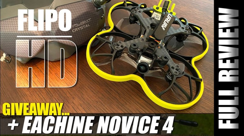 DJI Fpv Drone cant do this! - URUAV Flipo F95 HD Cinewhoop - REVIEW & GIVEAWAY! 🏆