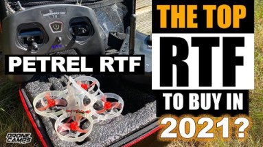 BEST Beginner RTF Drone for 2021? - HGLRC Petrel 75 Whoop RTF + Giveaway!!! 🏆🔋✈️