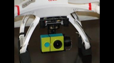 HAKRC Storm32 Cx-20 3-axis Gimbal Aerial footage