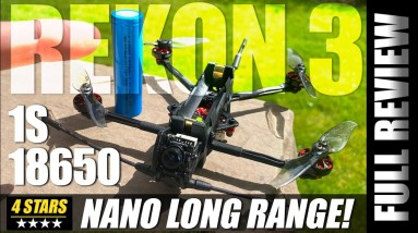 NANO Long Range! - HGLRC REKON 3 LR Fpv Drone - Honest Review, Crash, & Flights