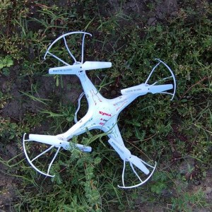 Syma X5C-1 Quadcopter Lost Sight Into the Sun and Recovered Back