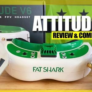 GOOD BUY? - Fatshark Attitude V6 Fpv Goggles - FULL REVIEW, FLIGHT TESTS, & COMPARISON