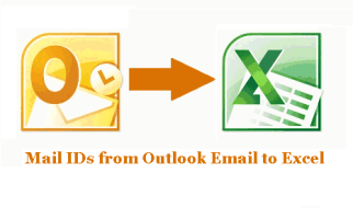 Import Mail IDs from Outlook Email to Excel