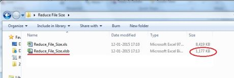 Reduce Excel File Size 02