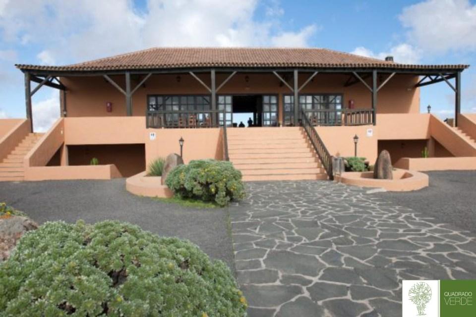 Centro de interpretación de Morro Velosa en Fuerteventura