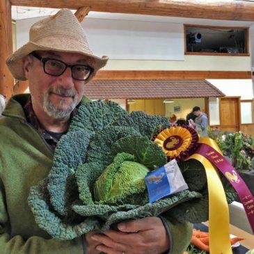What veggies grow well on Quadra Island?