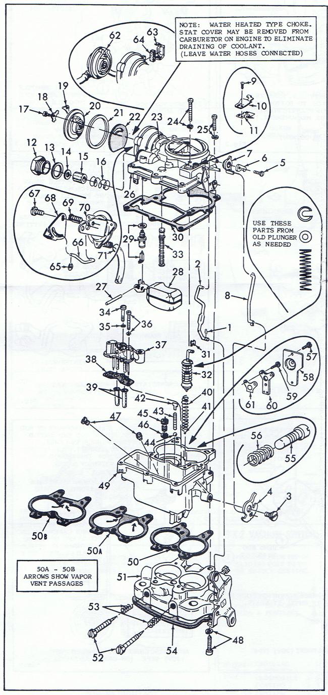 medium resolution of quadrajet parts diagram wiring diagrams the quadrajet parts diagram