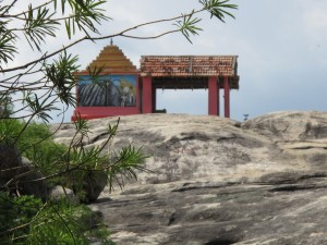 The Kovil on top of the Rock at Arugam Bay