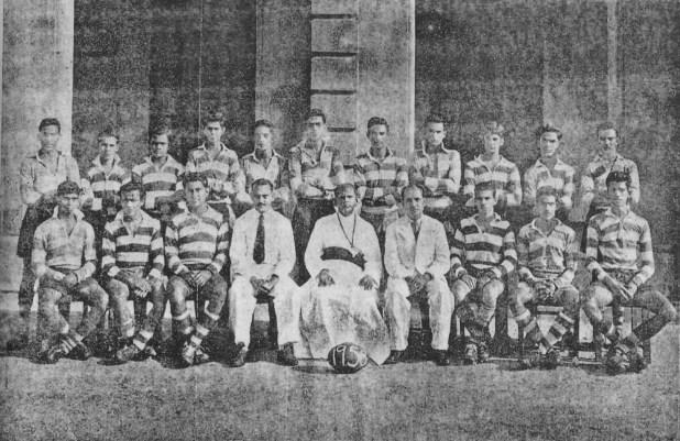 SJC Rugger Team 1958