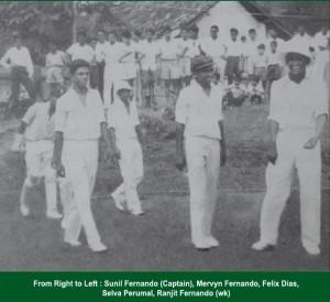 Sunil Fernando leading the side