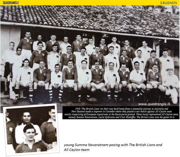 The British Lion tour of Ceylon - 1950