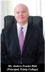 Mr. Andrew Fowler-Watt, Principal, Trinity College Kandy