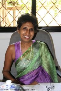 Mrs Eesha Speldewinde, Principal Ladies College