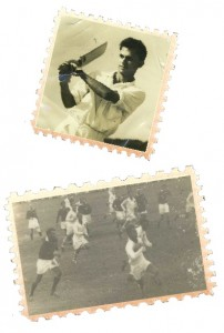Lorenz Pereira in action during young days