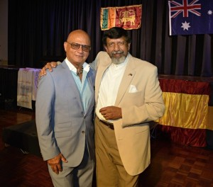 Lorenz with Skandakumar in Australia