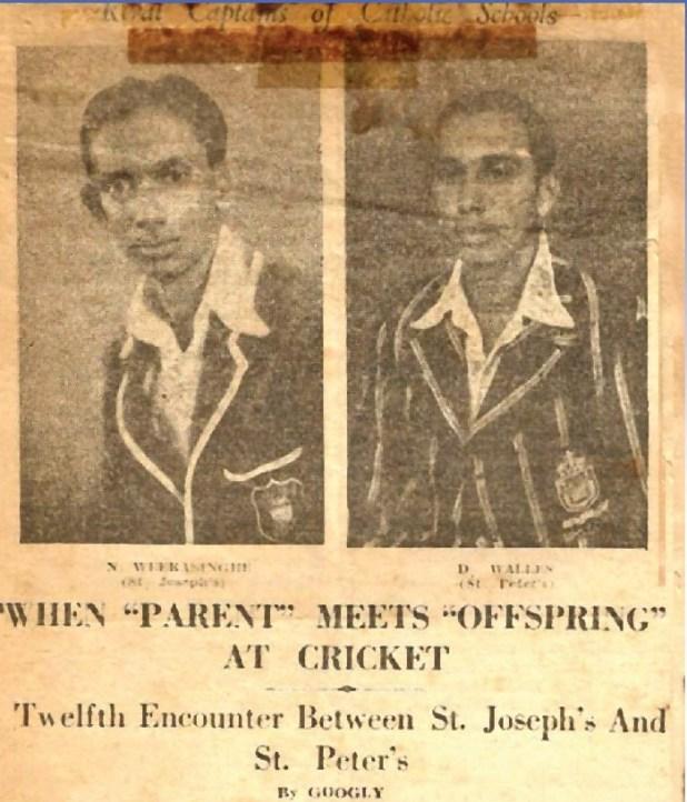 1946 Battle of the Saints news paper article