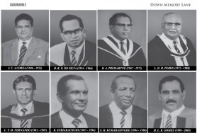 Former Sinhalese principals of Royal College