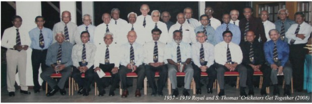 Gathering of former Royal -Thomian Cricketers