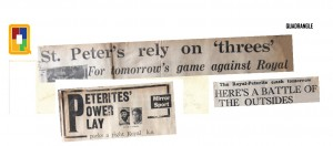 News paper headlines - 1966