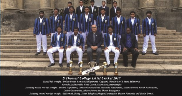 S.Thmoas' College 1st XI Cricket 2017