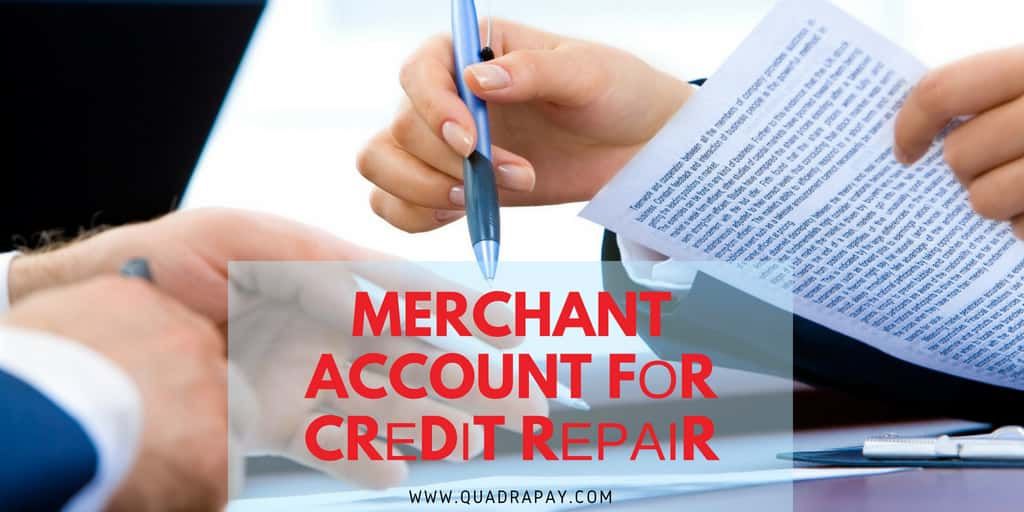 Merchant Account fоr Crеdіt Rераіr