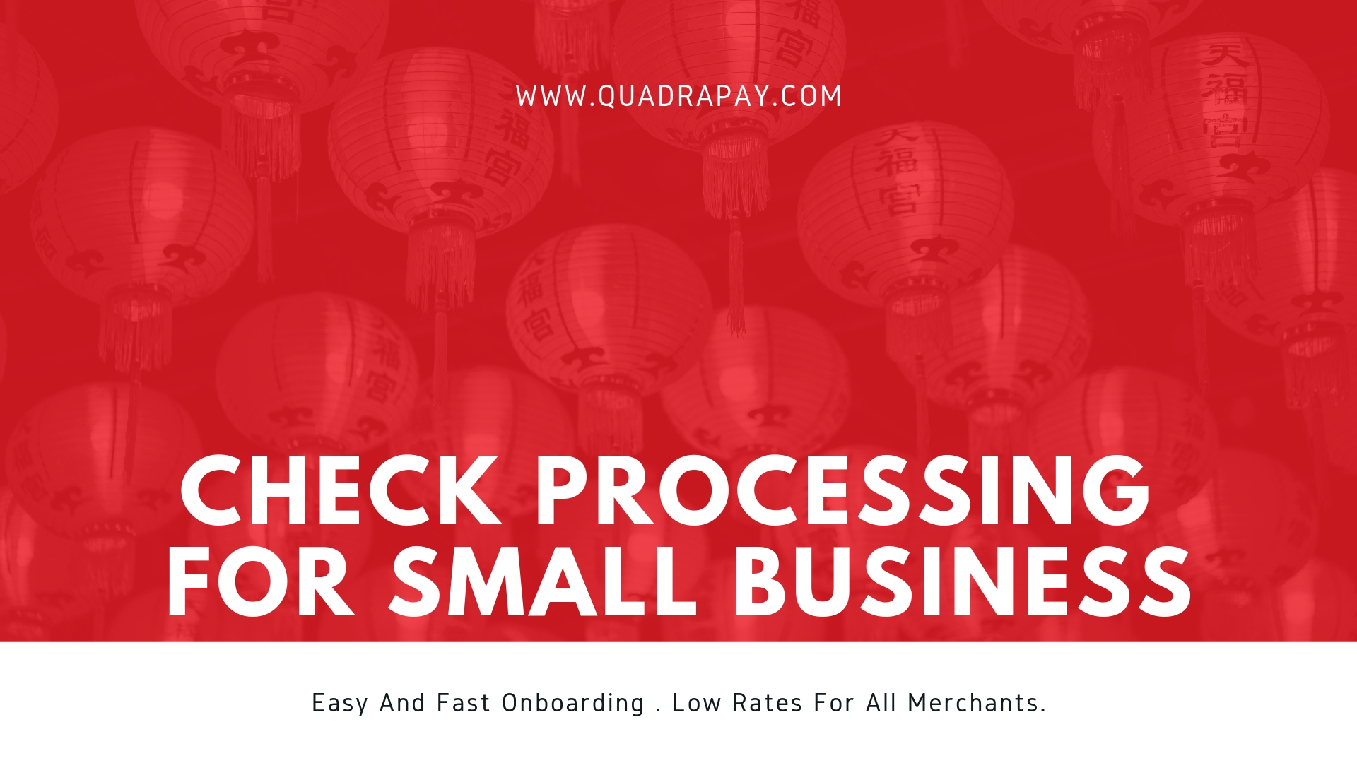 Check Processing For Small Business