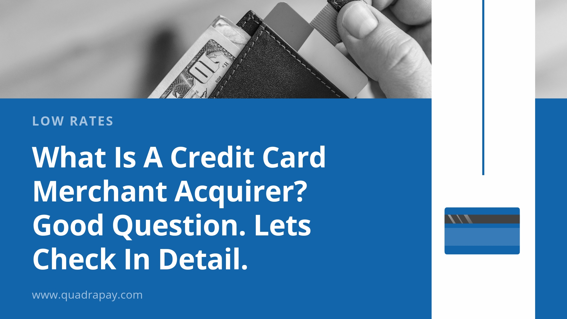 Credit Card Merchant Acquirer BY Quadrapay